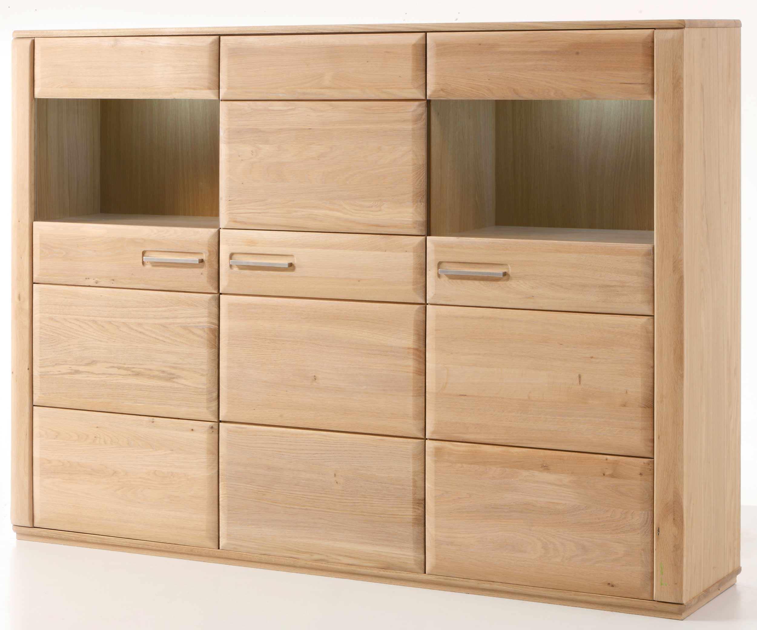 Highboard Kernbuche Teilmassiv Mca Sena Highboard Kernbuche Oder Eiche Bianco Teilmassiv ...