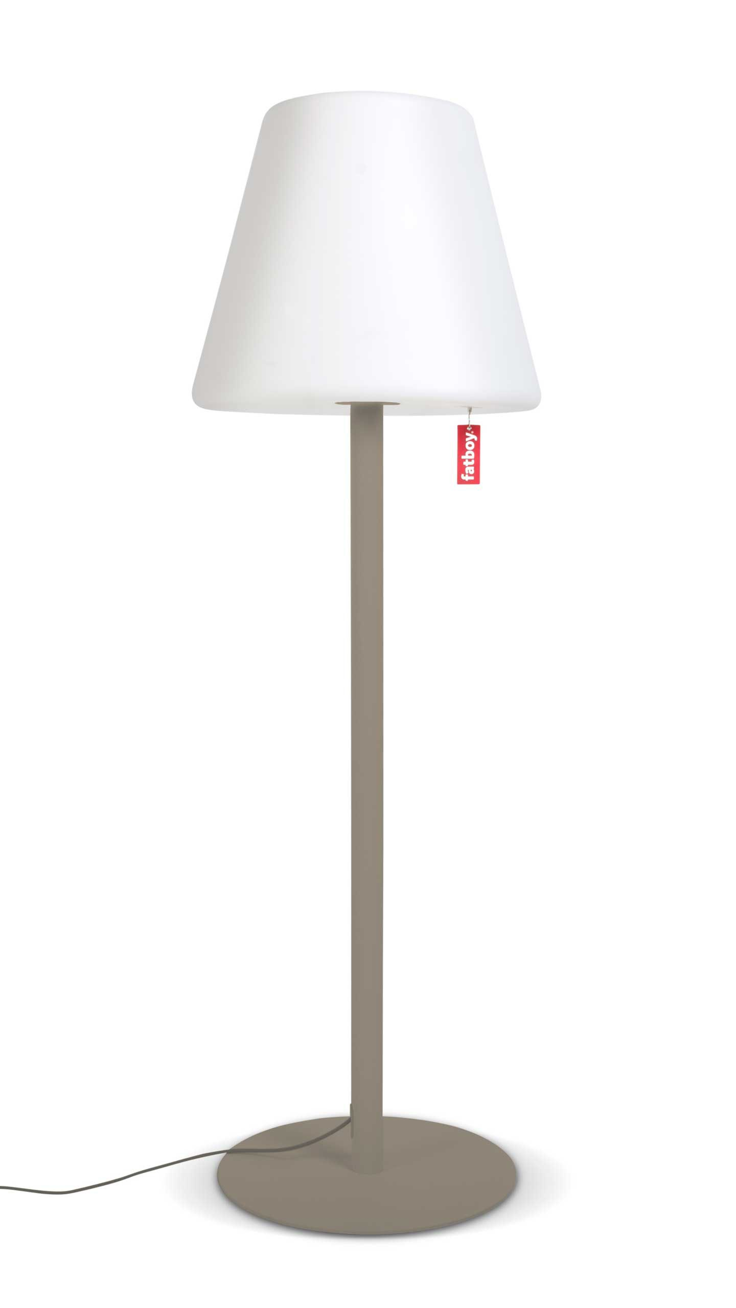 Outdoor Stehlampe Fatboy Edison The Giant Stehleuchte Lampe Taupe Taupefarbene