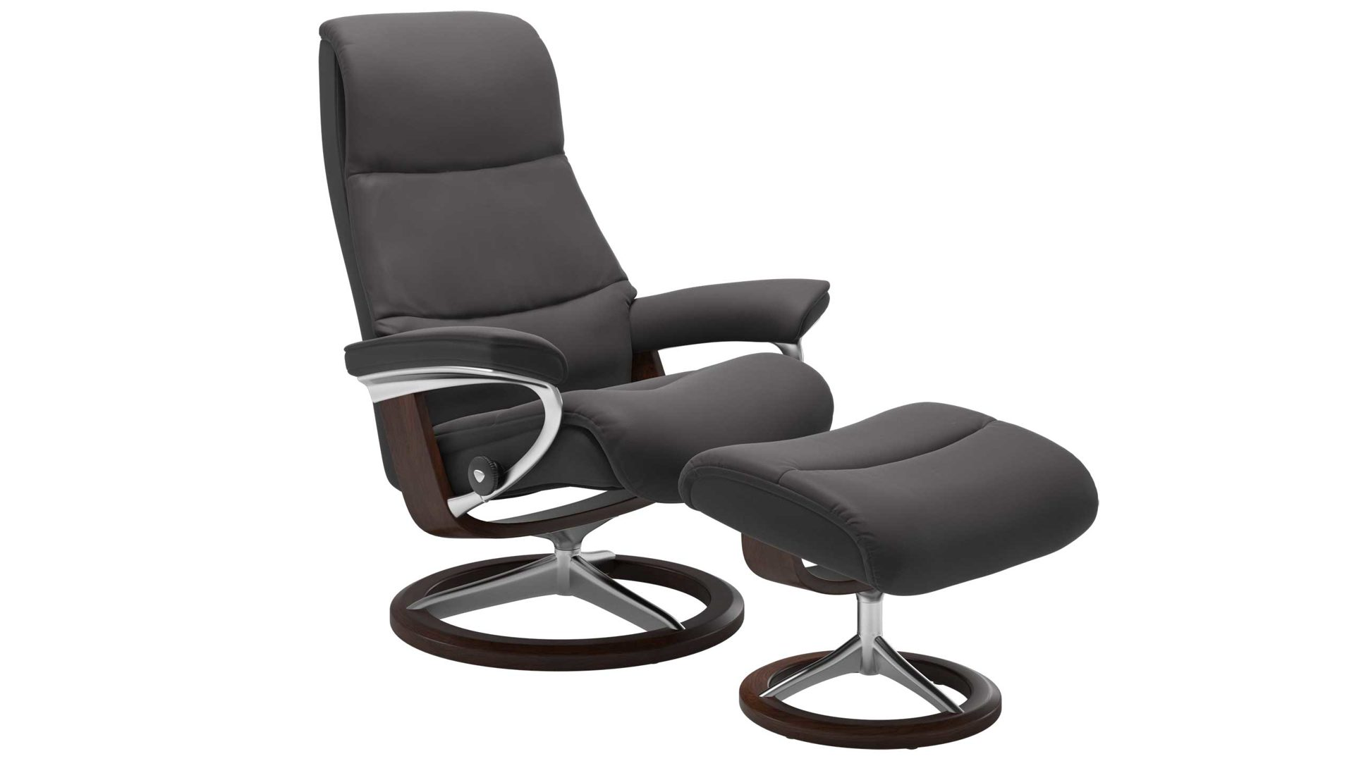Stressless View M Signature Relax Sessel Und Hocker Leder Signature Brown Bad Homburg Bei Frankfurt