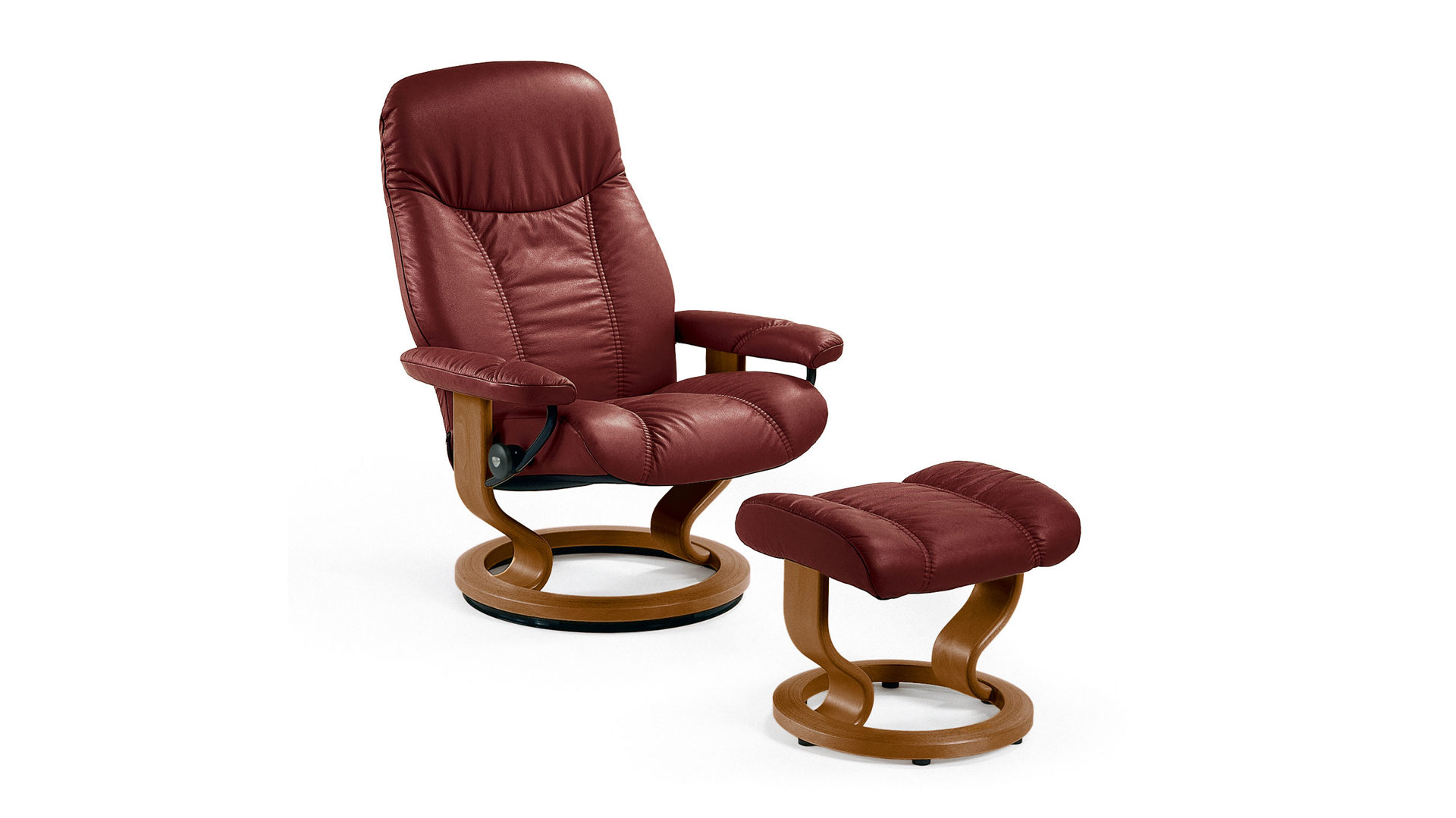 Stressless Ekornes Sessel Stressless Consul M Relax Sessel Und Hocker Leder Medium Leder