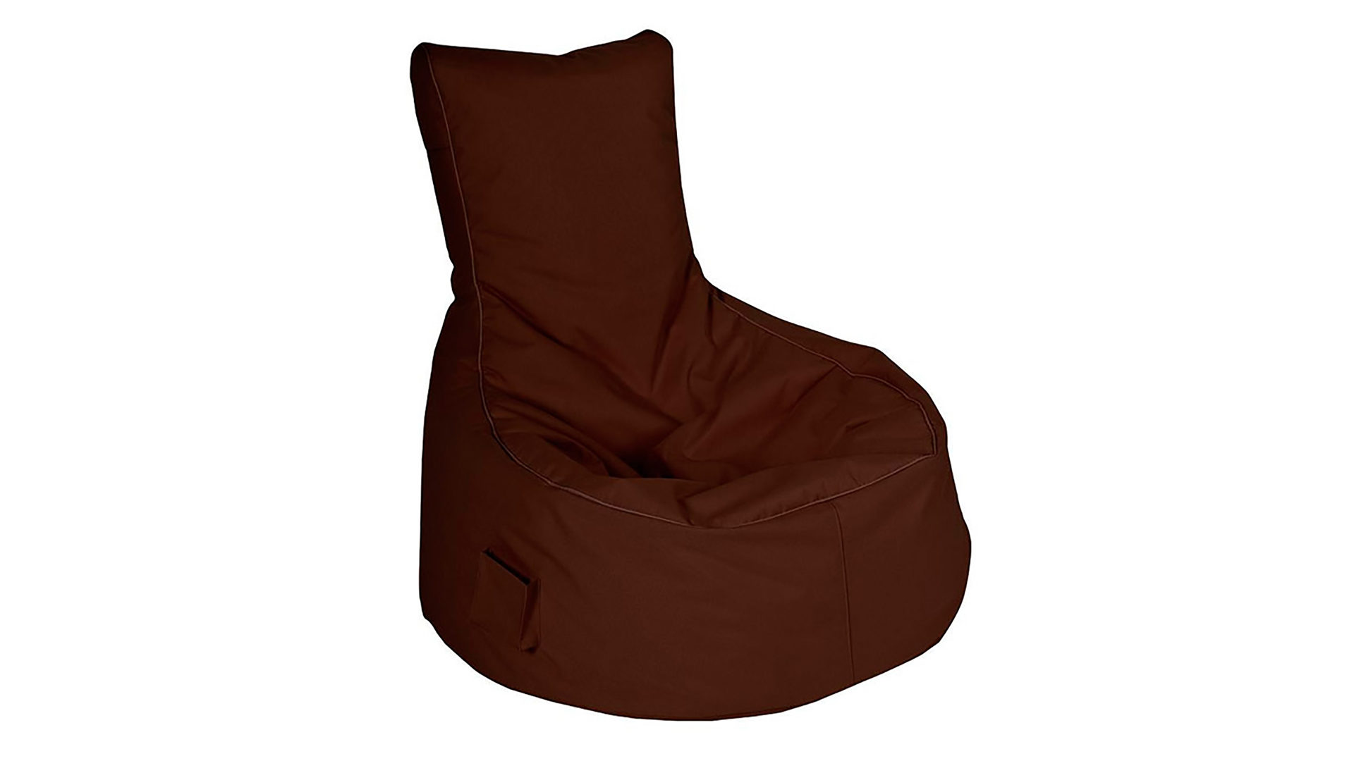 Kinder Swing Sessel Sitting Point Sitzsack Sessel Scuba Swing Dunkelbrauner