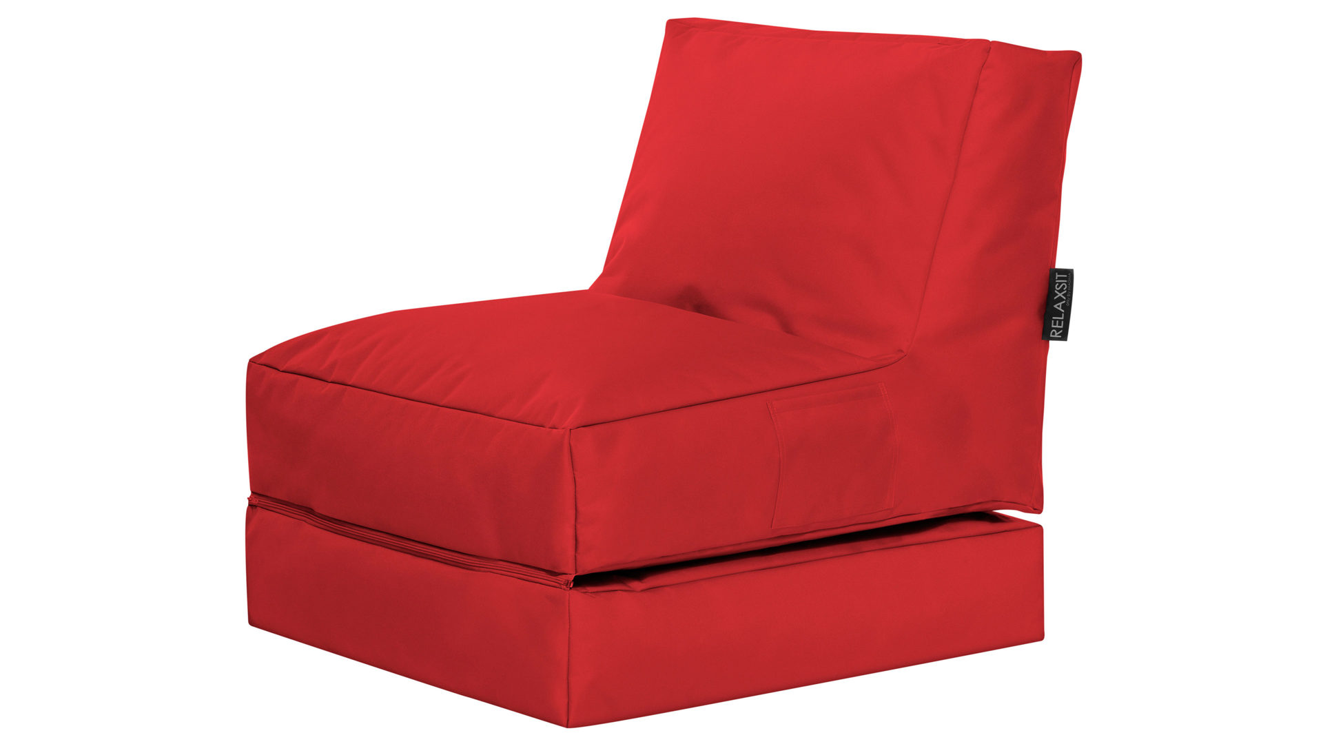 Roter Sitzsack Sitting Point Funktions Sitzsack Twist Scuba Roter