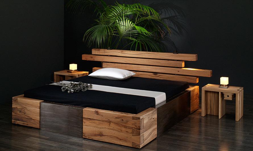 Bett Kopfteil Holz