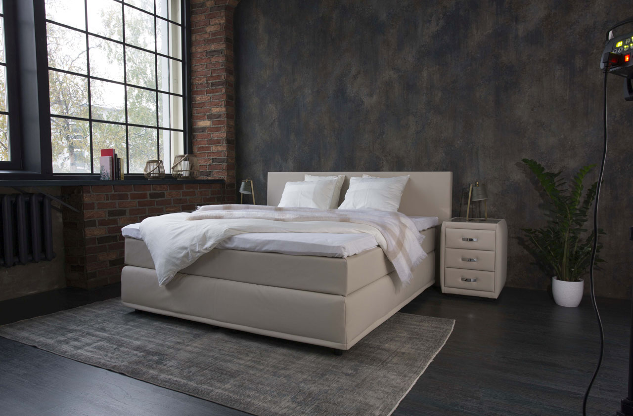 Boxspring Trends Boxspringbett Akad Or Rima