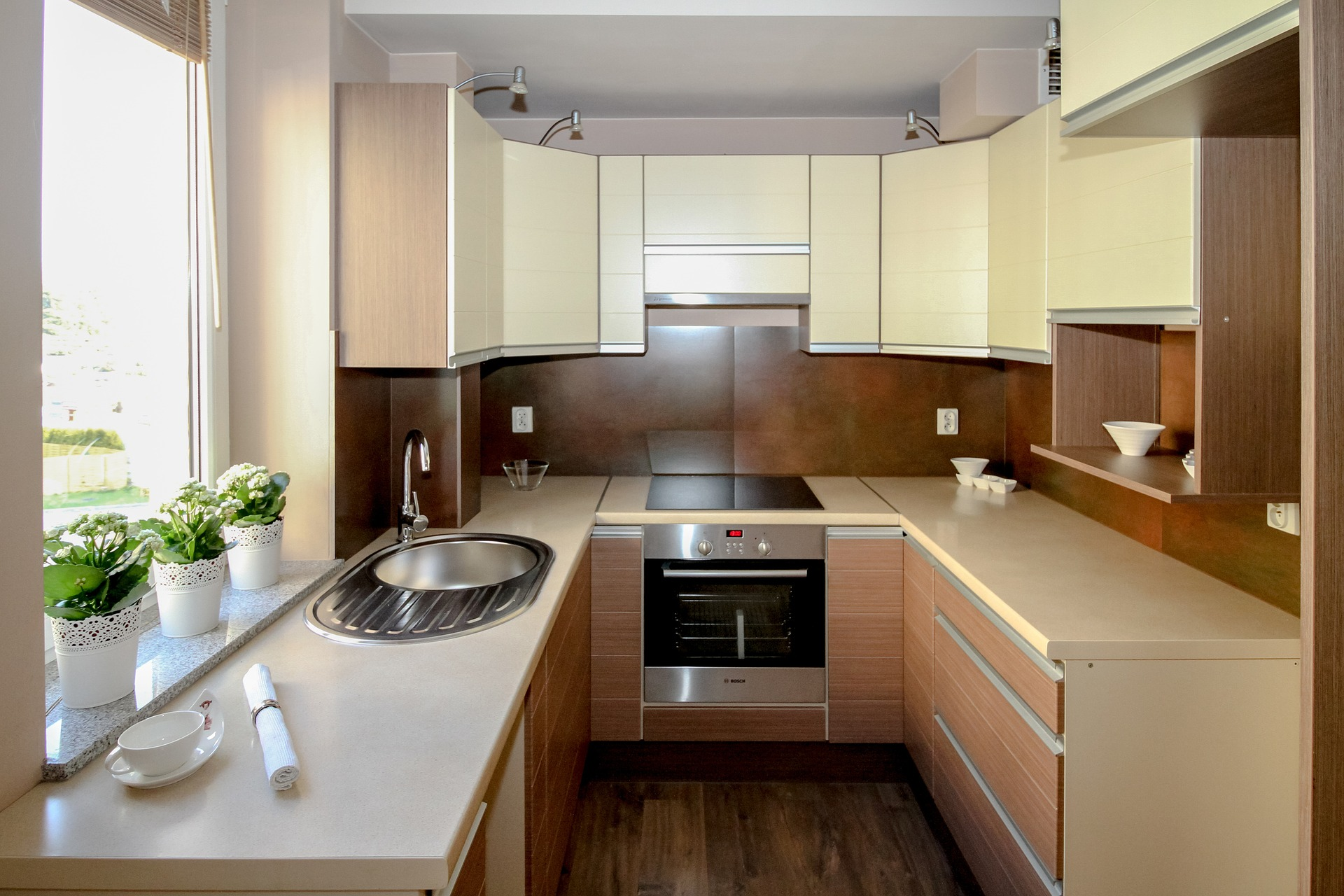 Modular Kitchen Design For Small Area In India Small Modular Indian Kitchen Designs
