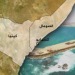 خريطة كينيا والصومال