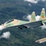 طائرة مقاتلة أوغندية