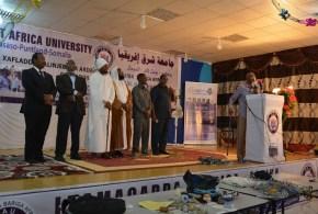 بالصور… جامعة شرق إفريقيا رمز التقدم والتطور.. وتحتفل بتخريج الدفعة الـ 16