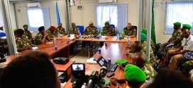 اجتماع بين قيادتي القوات الصومالية و الأميصوم تمهيدا للحرب المرتقب ضد حركة الشباب