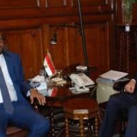 وزير الزراعة ونظيره المصري