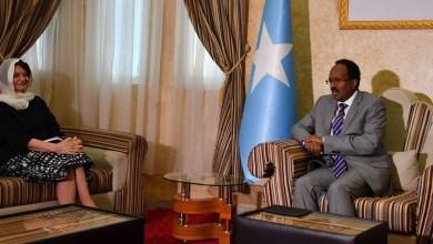 رئيس الصومال