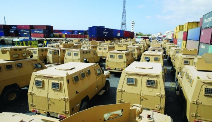 آليات عسكرية