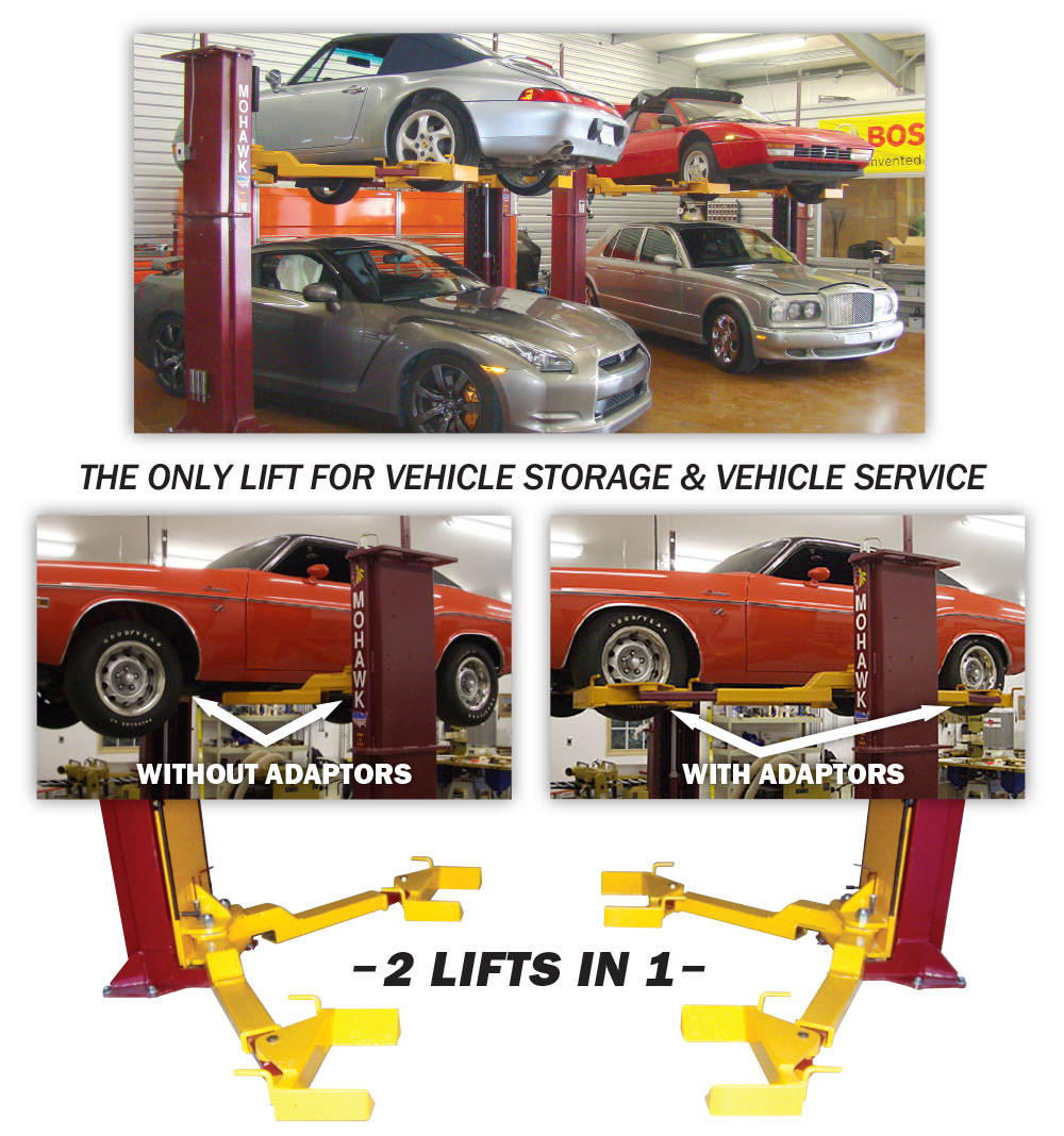 In Ground Garage Car Lift Car Storage Vehicle Service Lifts Mohawk Lifts