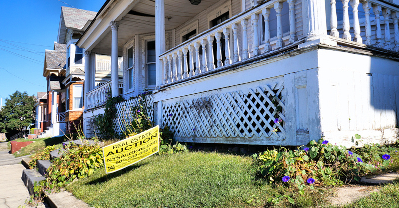 Date set for foreclosed property auction