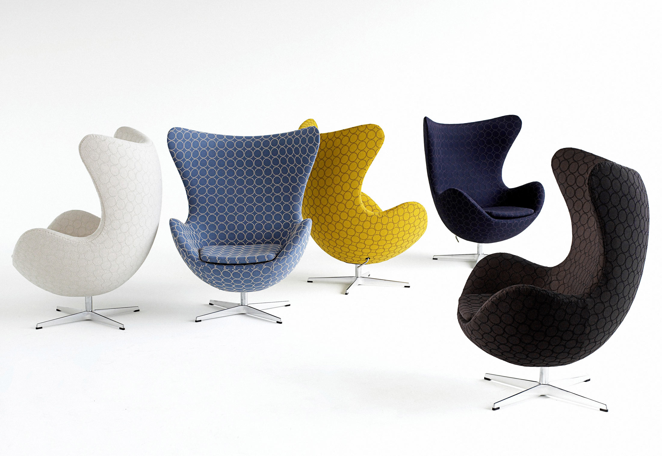Egg Sessel Egg Chair Di Fritz Hansen Poltrone And Chaise Longue