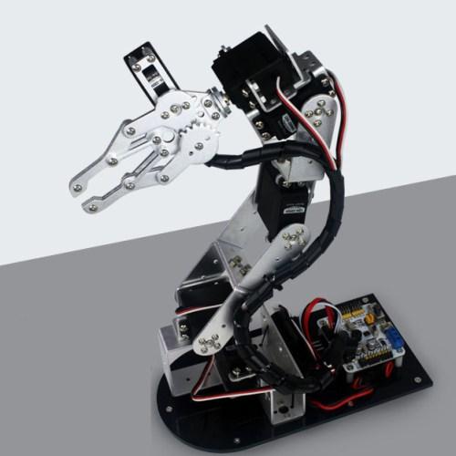 Cánh tay robot bậc đơn giản kim loại servo mg r giá