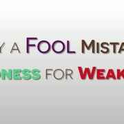 "Why the ""Weak"" Are More Powerful Than You [VIDEO]"