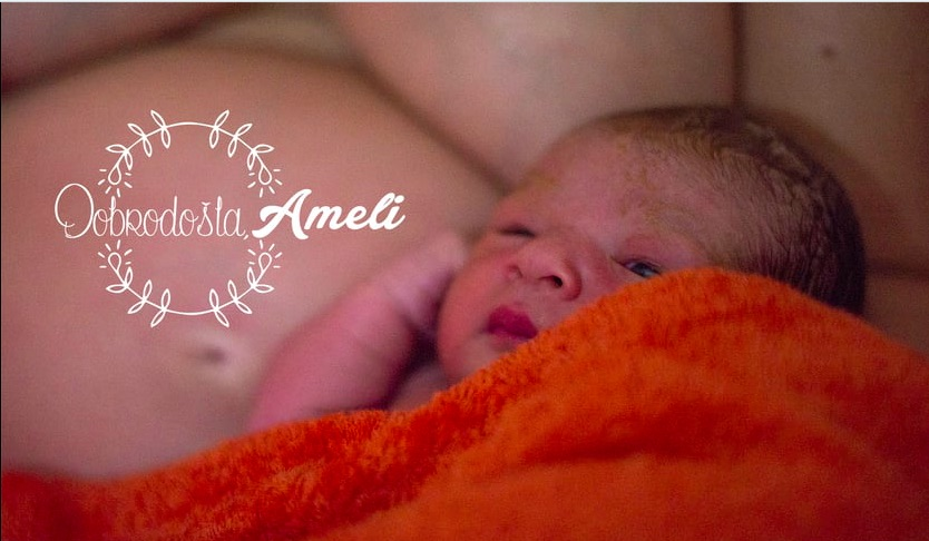 Ameli's home birth