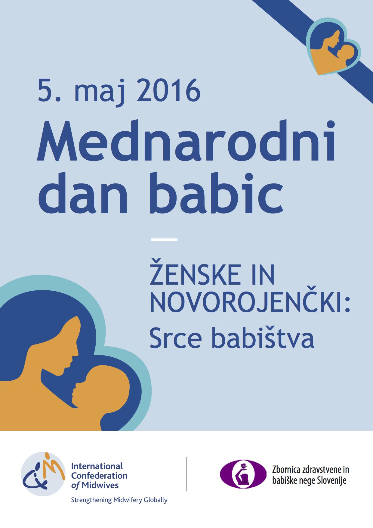 5. maj – mednarodni dan babic #IDM2016