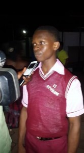 16 Year Old Boy From Ebonyi Who Assembled Solar-Powered Presents It To Gov. Umahi (Photos)
