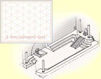 Isometric Graph Paper Isometric Graph Paper Blue Vector - isometric graph paper