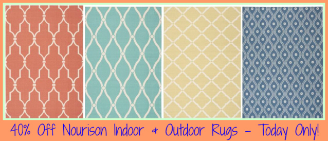 40 Off Nourison Indoor Outdoor Rugs At Home Depot