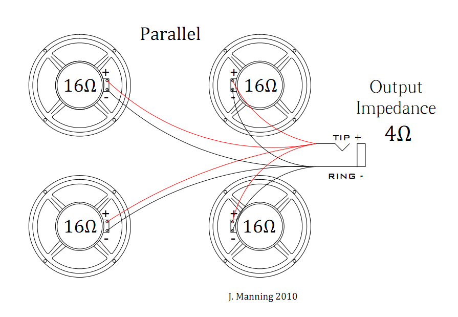 speaker wiring diagram series parallel