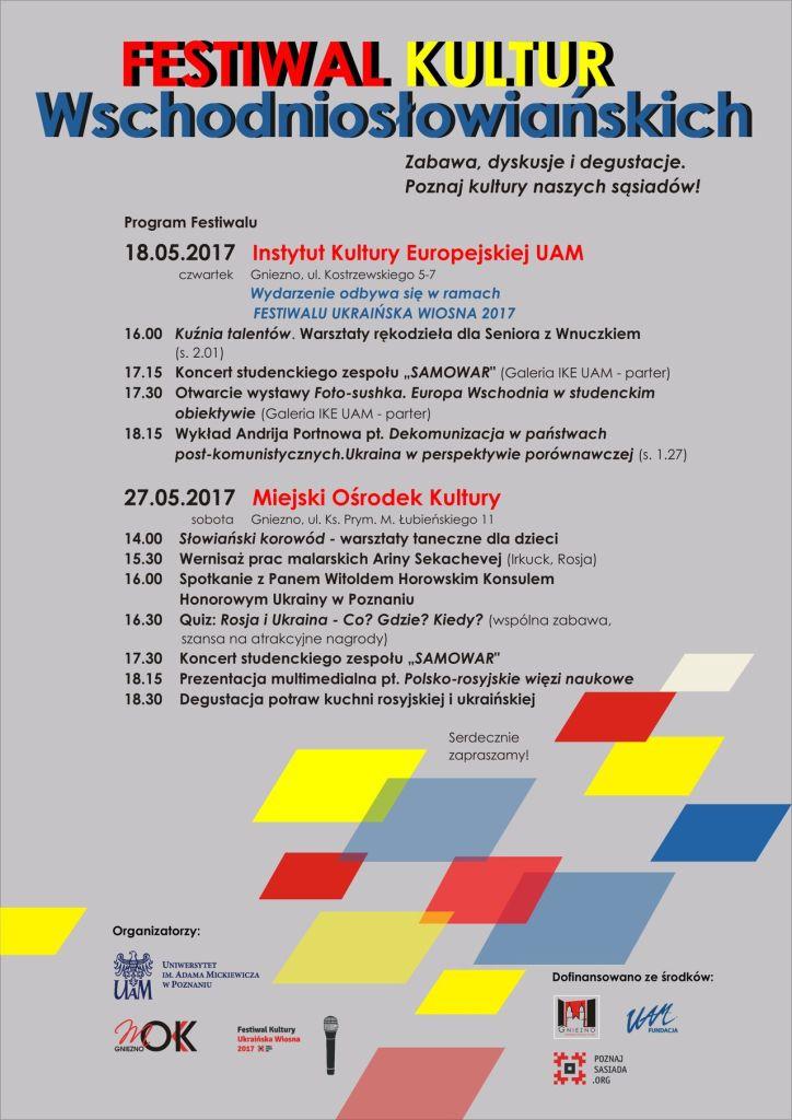 Festiwal Kultur Wschod_ plakat