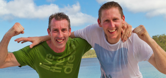 Congratulations Shane and Andrew – winners of The Amazing Race Australia 2012