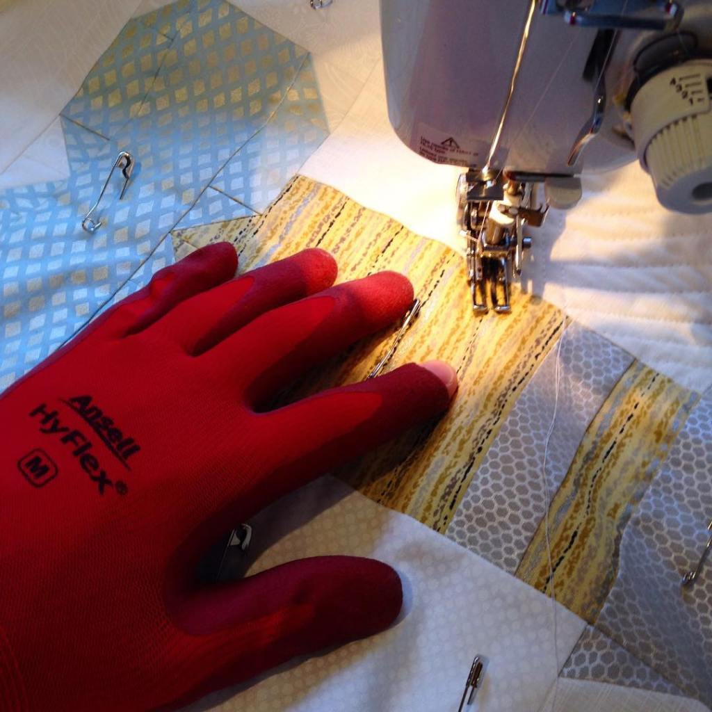 I use fancy customised quilting gloves A whopping 299 fromhellip