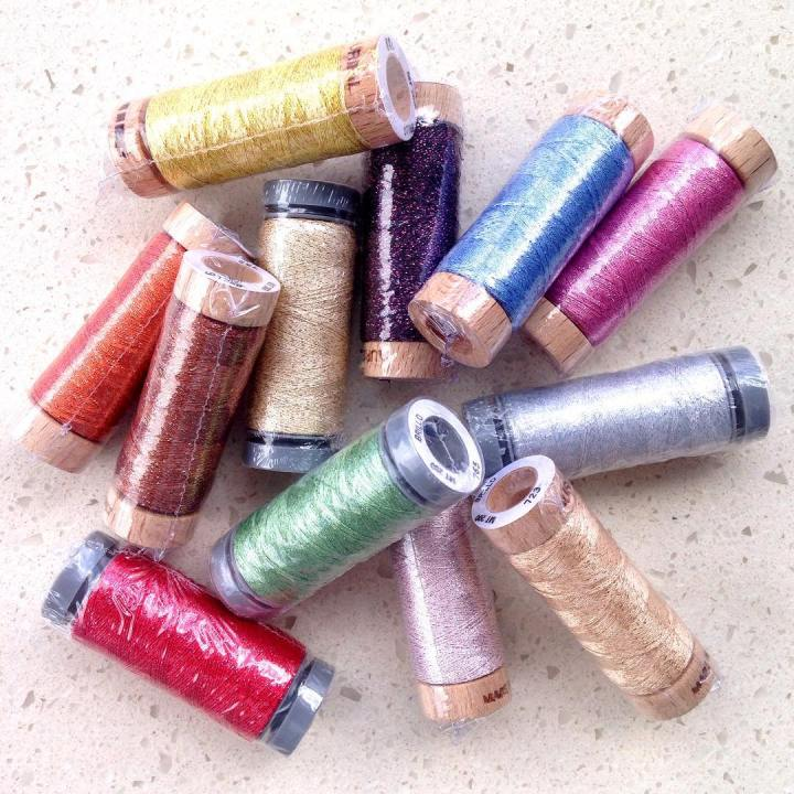 The greatest Aurifil thread bundle Ive ever seen! These Brillohellip