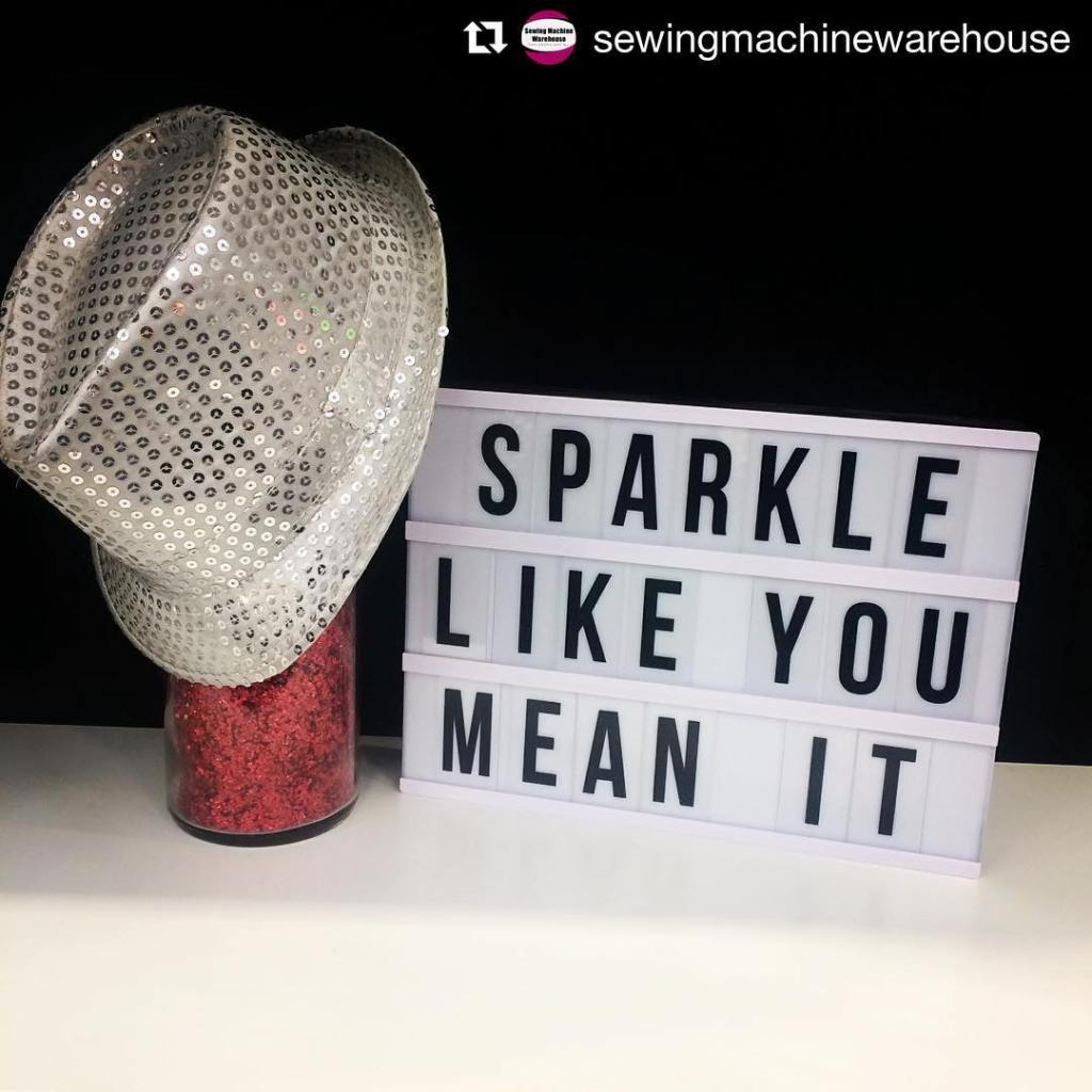 sparklelikeyoumeanit Words to live by! Thank you sewingmachinewarehouse and jukihomesewinghellip