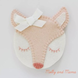 The Fifi Fox Needle Book tutorial from Molly and Mama