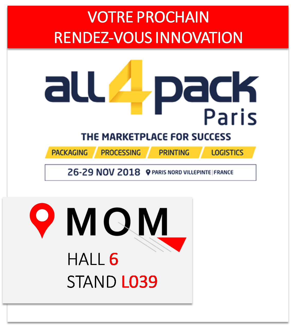 Foire De Paris 2017 Invitation Gratuite Invitation All4pack Paris 2018 Commandez La Gratuitement Mom