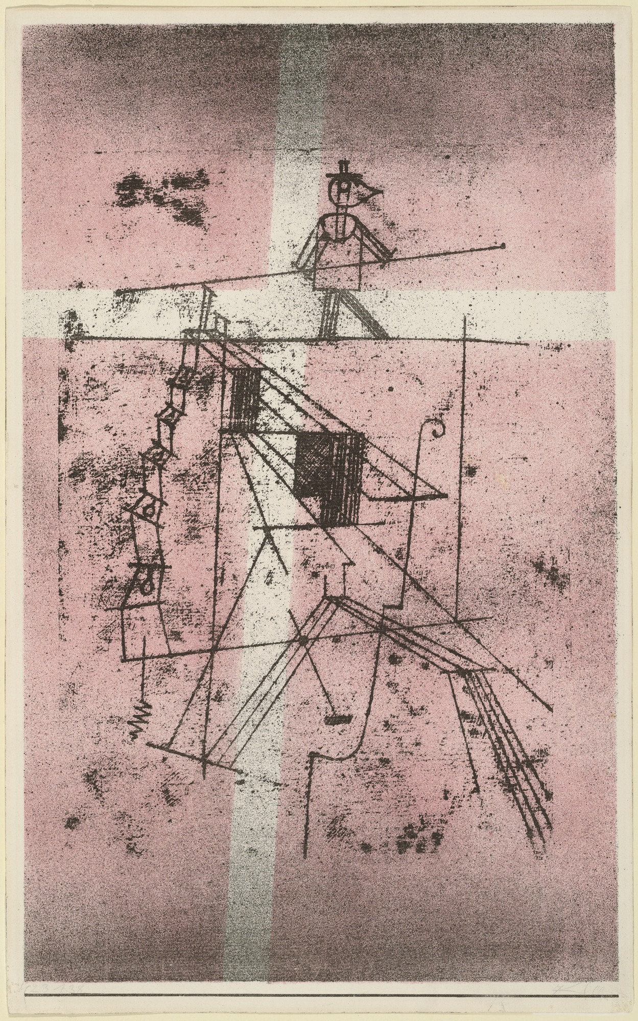 Die Kunst Moma The Collection Paul Klee Tightrope Walker Seiltänzer