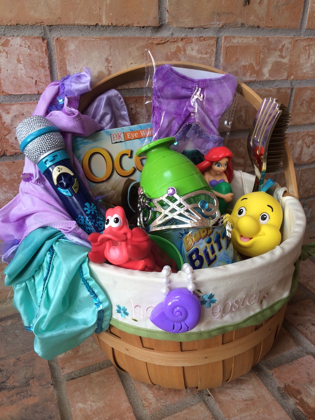Mermaid Gift Ideas Disney Easter Basket