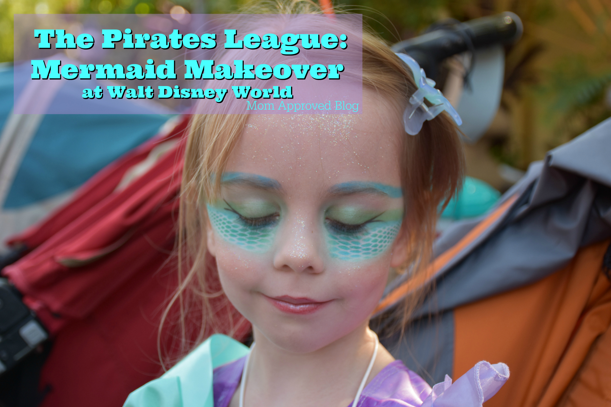 Make Over The Pirates League Mermaid Makeover At Walt Disney World Mom