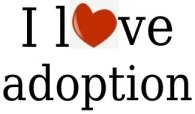 I love Adoption