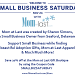 Small Business Saturday with Mom at Last