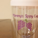 Mommys Sippy Cup for On the Go Mothers