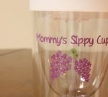 Mommy's Sippy Cup for Fashionable Moms