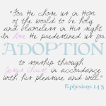 adoption bible quote