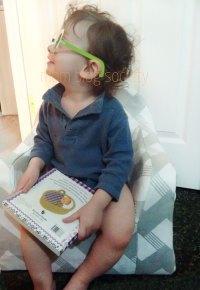 P'kolino Little Reader Toddler Chair - Mom Blog Society