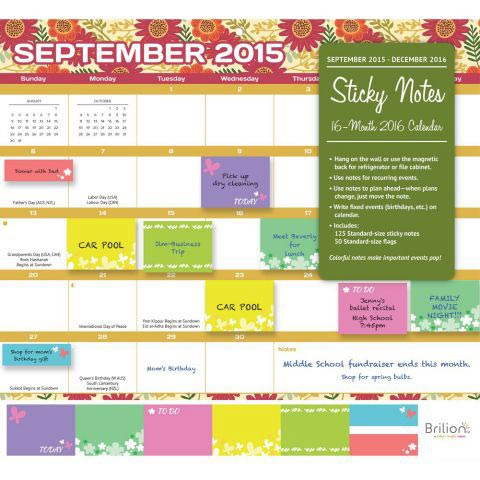 Calendars for your New Year Calendar - Mom Blog Society