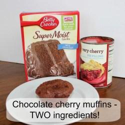 Small Of Chocolate Cherry Dump Cake
