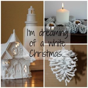 Some white Christmas ideas!