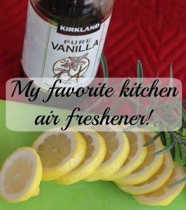 My favorite air freshener!  Clean, simple and using ingredients from your kitchen!  Momcrieff.com