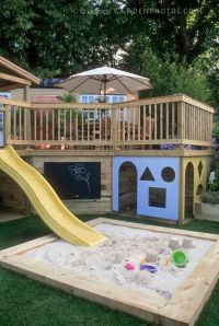 Unique and Ultimate Backyard Playgrounds