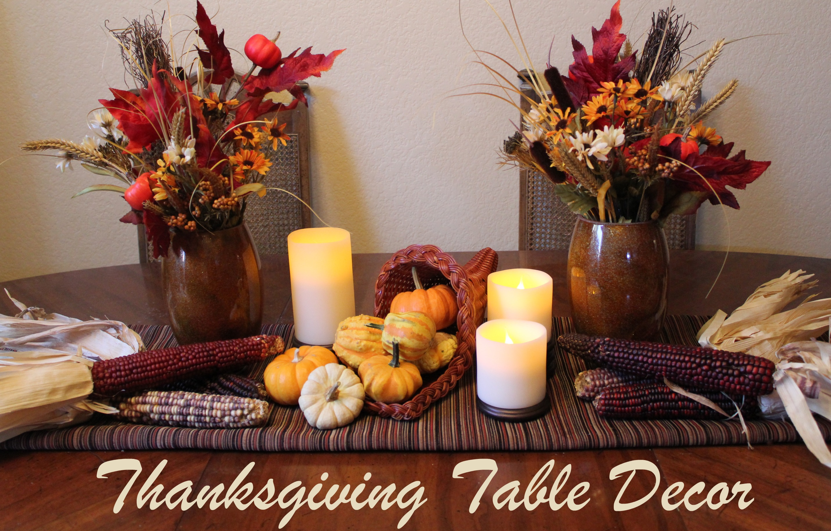 Table Decor Cornucopia Of Creativity Diy Thanksgiving Table Decor