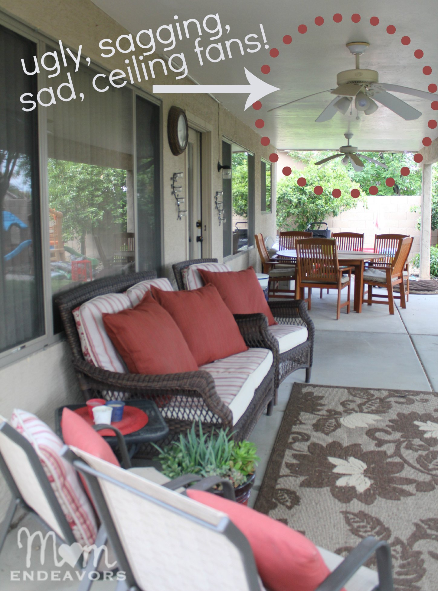 Ceiling Fans With Good Lighting Patio Lighting Ceiling Fan Makeover Lowescreator